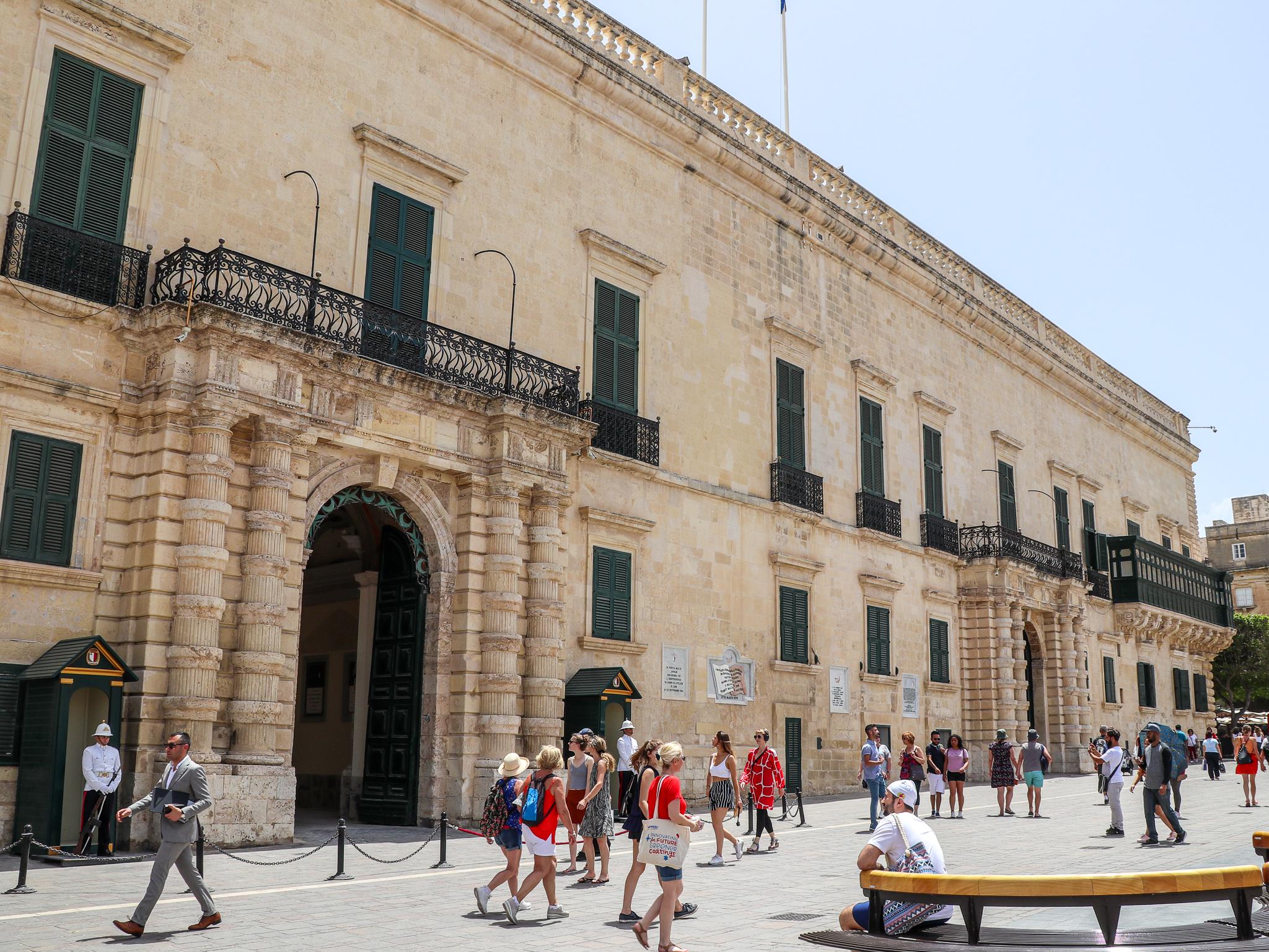 Palácio Grão-Mestre Malta