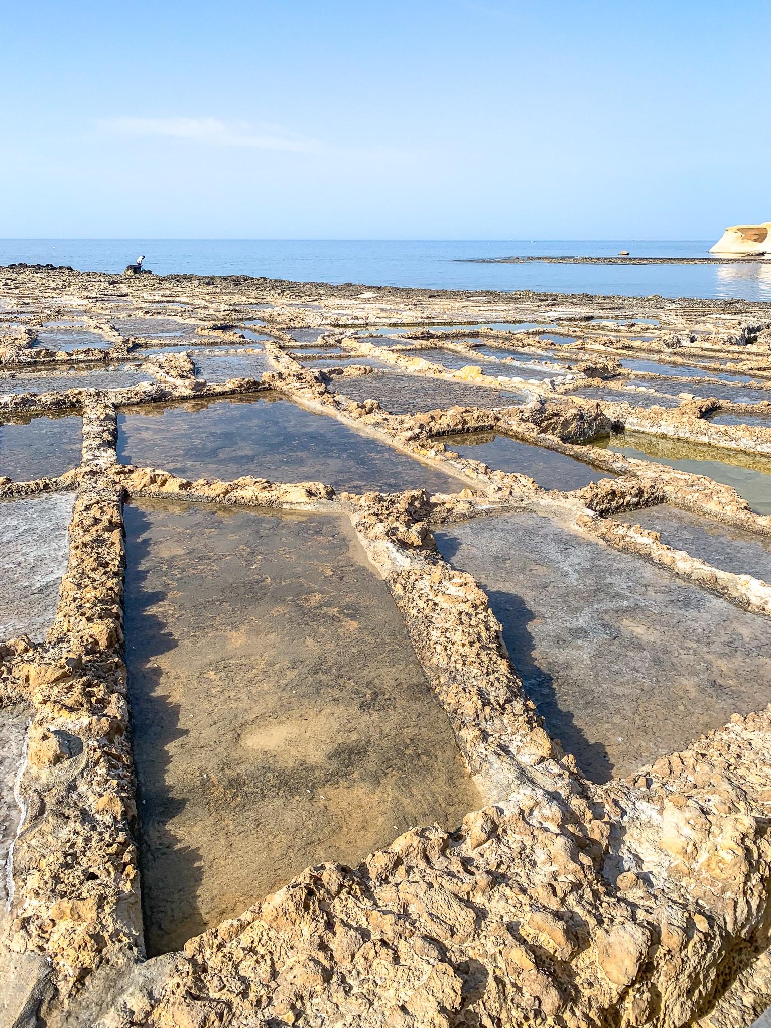 Detalhe das Salinas de Gozo